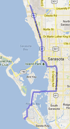 Driving Directions Siesta Key Vacation Rentals