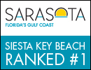 Siesta Key Beach Ranked #1